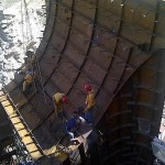 Shielding of tailrace Palomino – Constructora Norberto Odebrecht