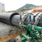 HDPE underground piping – Fluor/PVDC