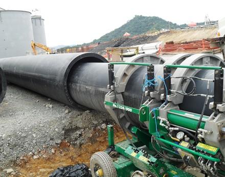 Tubería HDPE soterrada – Fluor / PVDC