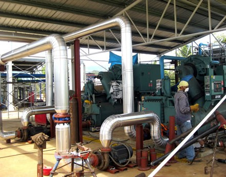 Chillers and cooling tower – Hanesbrands