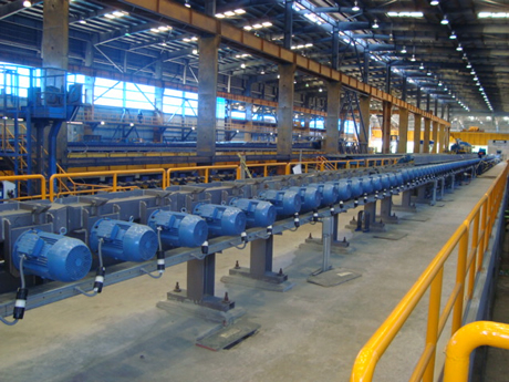 2nd rolling mill line – INCA