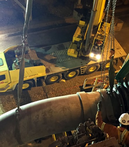 Ongoing service agreement – PVDC (Barrick)