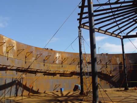 HFO storage tank – Smith Enron