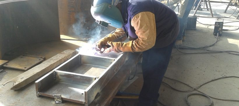 Steel Fabrication PUNTA CATALINA Coal Power Plant – Consorcio Punta Catalina