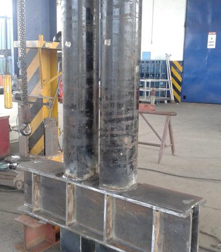 Steel Fabrication PUNTA CATALINA Coal Power Plant – Consorcio Punta Catalina