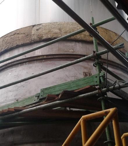 Installation of Silos and Raw Material Equipment – Cervecería Nacional Dominicana