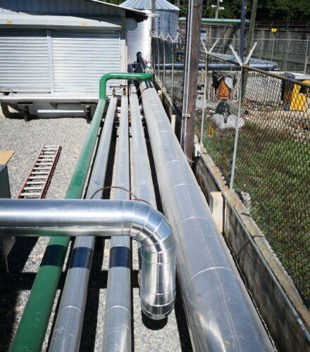 Piping installation  for AC30 Storage Terminal – Grupo Titanio