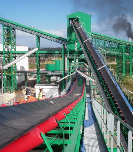 Conveyor Belt Installation – San Pedro Bioenergy