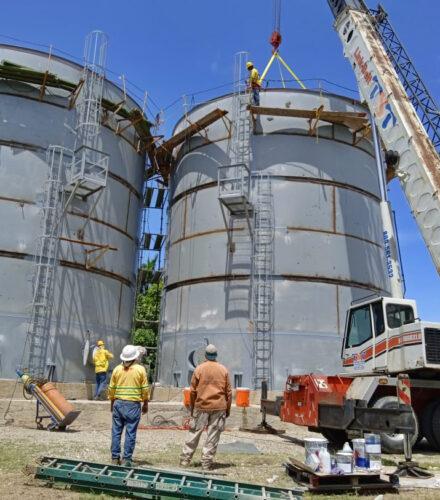 Fabrication Of 2 Water Tanks – (Vinicola Del Norte)