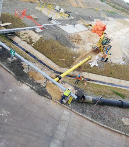 Gasoducto Para Conversión Gas LNG de Planta de Generación Quisqueya I – (WÄRTSILÄ)