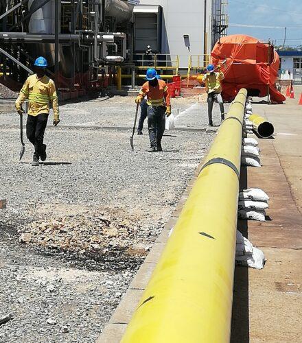 Gasduct PIPELINE for LNG Gas Conversion of Quisqueya I Generation Plant – (WÄRTSILÄ)