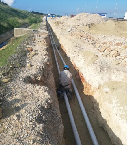 EPC Gasduct for LNG Conversion of Quisqueya II Power Plant – (EGE HAINA)